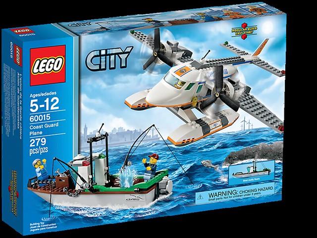 LEGO City 60015 - Coast Guard Plane - BoxArt