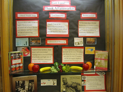 Food Justice exhibit