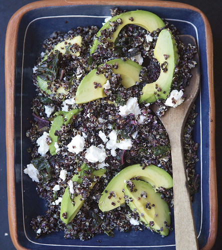 Black Quinoa Salad with Lemon