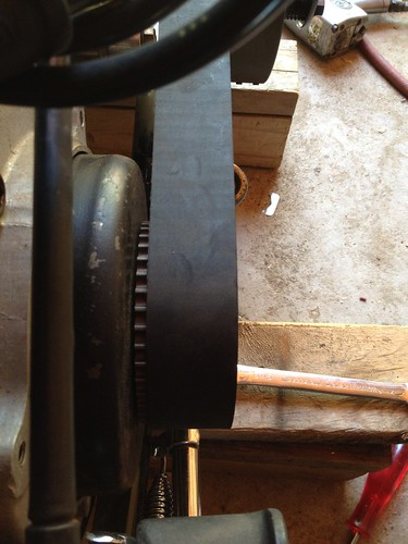 Shovel Clutch Hub on tapered shaft