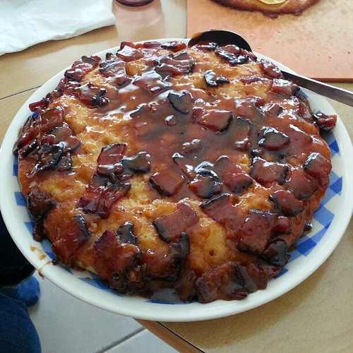 Maple Bacon Biscuit Bake (photo by Evelyn Chan)