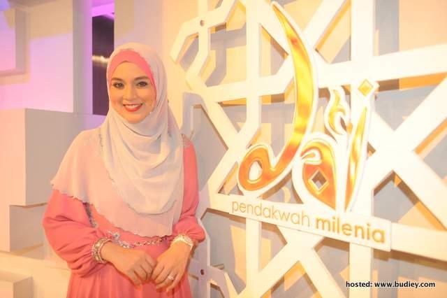 Nurul Syuhada Nurul Ain Mohd Zin sebagai pengacara program Da'i
