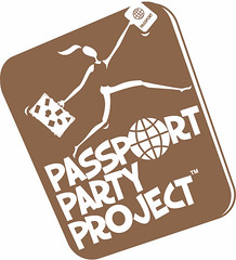 passport party project, travel and passports for girls