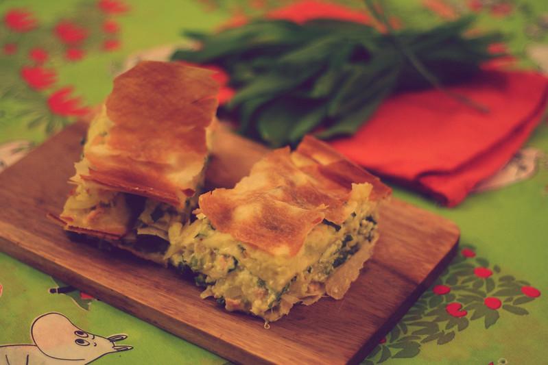 Strudel-Lasagne mit Bärlauch