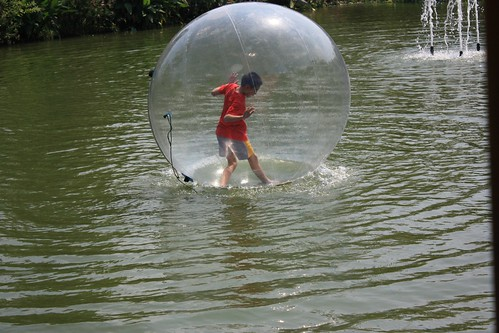 stuck in a bubble