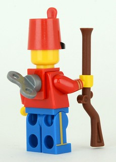 Toy Soldier from DK Minifigures book