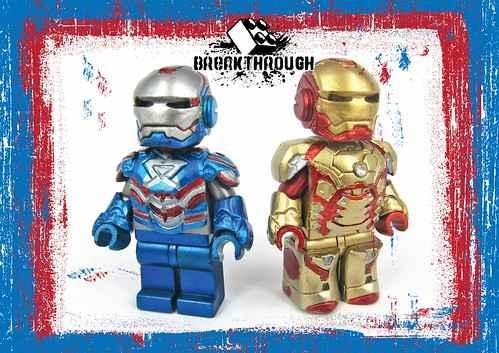 IRON PATRIOT & MARK XLII