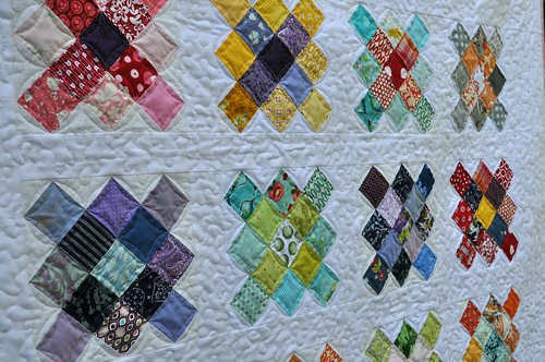 granny quilting detail