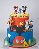 BC4238-mickey-mouse-club-house-cake-toronto-oakville
