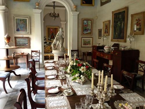 Casa rocca piccola alla valletta un atmosfera d altri tempi a malta - Sala da pranzo in inglese ...