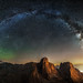The Aurora. The Milky Way. The Dolomites