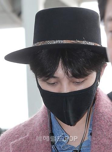 Big Bang - Incheon Airport - 21mar2015 - G-Dragon - Herald Corp - 07
