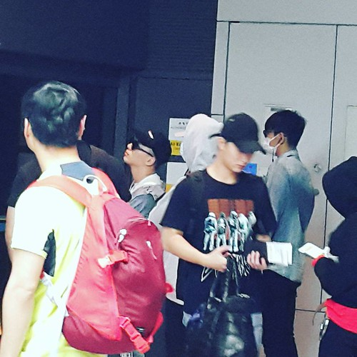 BIGBANG arrival Seoul ICN from Macau 2016-09-05 rahee.laurin inch imigration