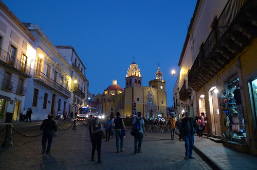 Strolling at Night - Guanajuato, Mexico