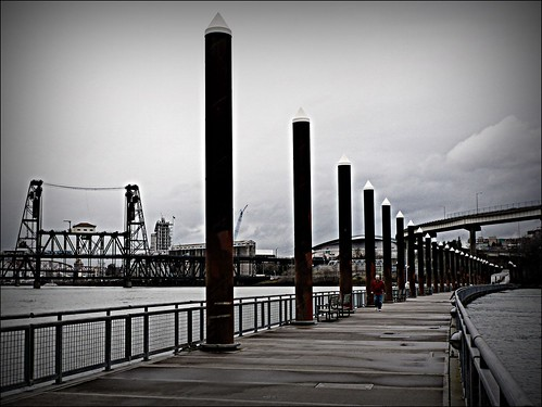 oregon portland escape repetition steelbridge ribbet odt eastbankesplanade floatingwalkway scavchal