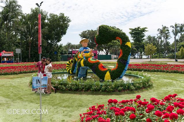 Sentosa Flowers 2013 - Rainbow Snake 3