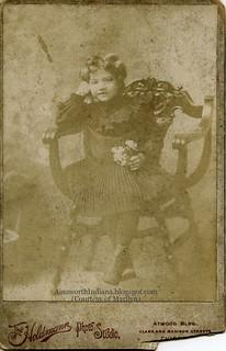 Caroline Sapper ca 1900