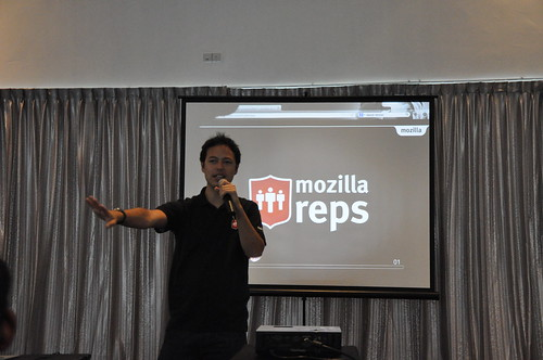 Mozilla Reps session at MozCamp Asia 2012 in Singapore