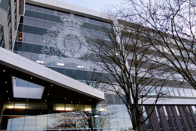 Branding new rcmp e division headquarters in surrey bc for Porte hq surrey