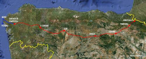 Camino de Santiago final