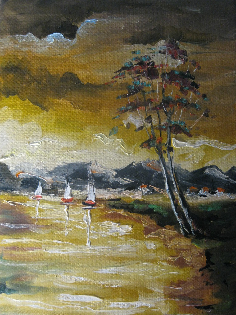 oil painting 50x30