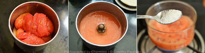 How to make tomato puree at home - Step4