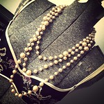 Pearl necklace from tag sale in Woodbury