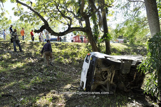 Accidente Camioneta Jardín Botánico