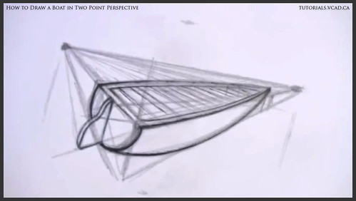 learn how to draw a boat in two point perspective 009