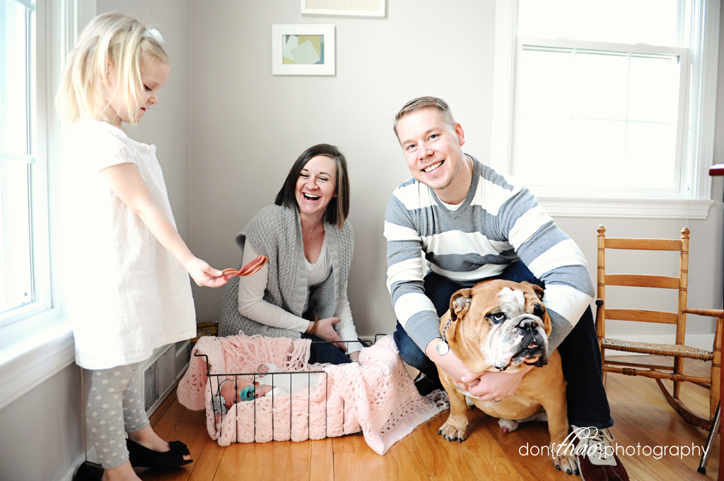 family portrait bloopers in Grand Rapids, Michigan