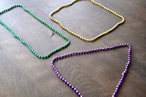 Mardi Gras Beads Shapes
