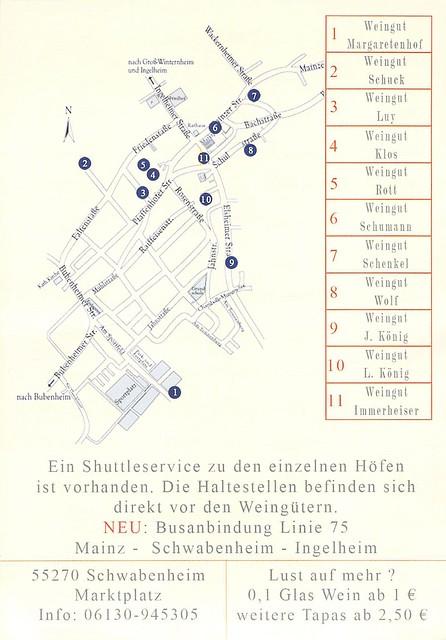 Wein und Tapas in Schwabenheim an der Selz 2013