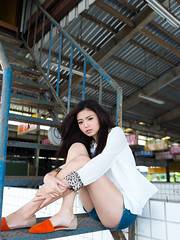 [フリー画像素材] 人物, 女性 - アジア, 台湾人, シャツ・ブラウス ID:201302250800