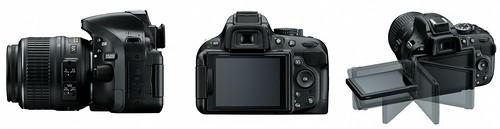 Nikon D5200 -- Articulating LCD