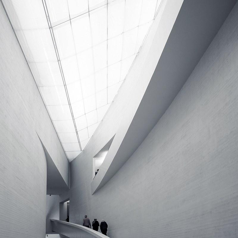 L'entrée du musée Kiasma, Helsinki