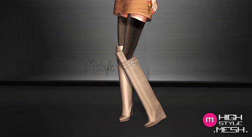 PONY Boots - .MESH. by Mikee Mokeev