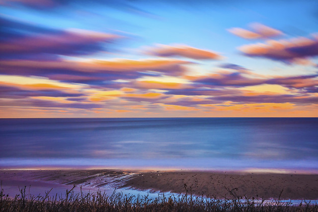 Dusk at Nauset Light Beach