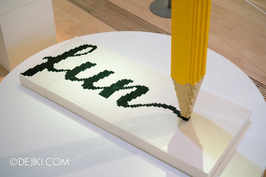 Art of The Brick - Pencil Fun