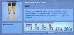 Peek-a-Boo Curtains