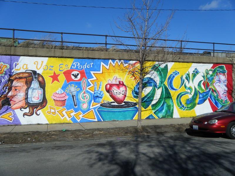 """La Voz Es Poder"" mural"