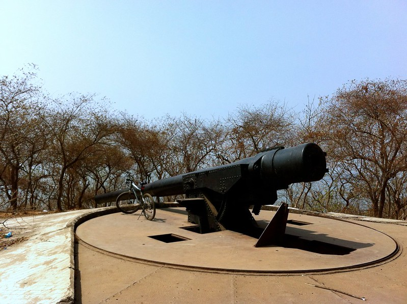 Cannon no 2 at Elephanta