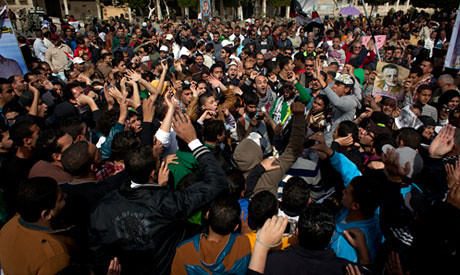 Port Said soccer fans have staged demonstrations in the flash point city in Egypt. Strike activity has continued throughout February 2013.  by Pan-African News Wire File Photos