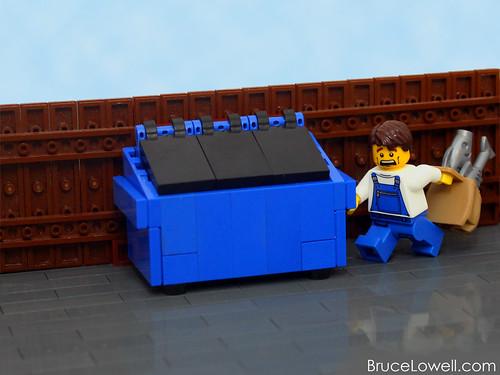 LEGO Dumpster