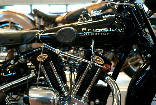 NMM Yet another Brough SS 100. by John Gulliver