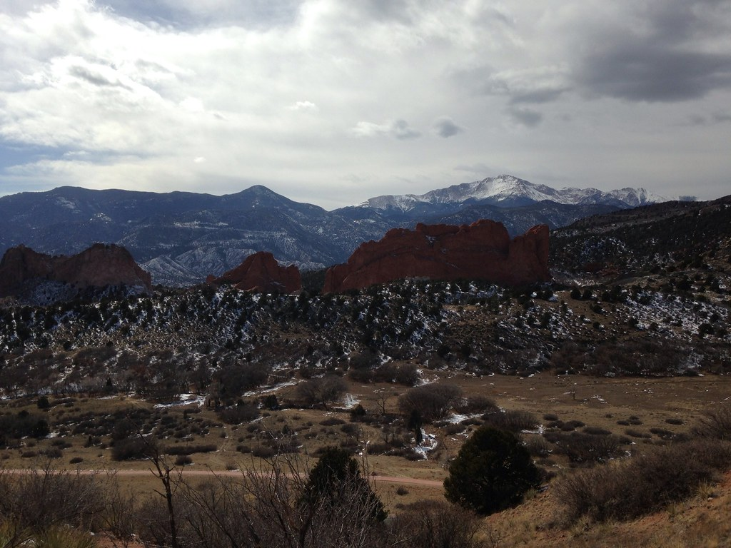 Garden of the Gods & Pikes Peak