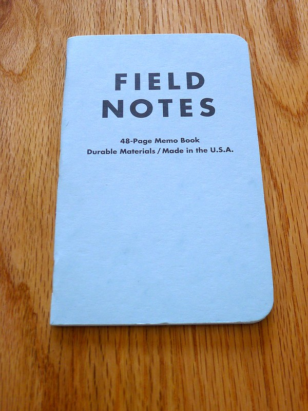 Field Notes Butcher Blue