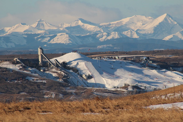 Canada Olympic Park by CC user davebloggs007 on Flickr
