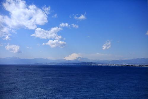 sea sky cloud mountain japan enoshima kanagawa mtfuji fujisawa