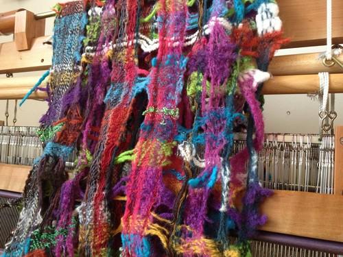 手織りのスヌード
