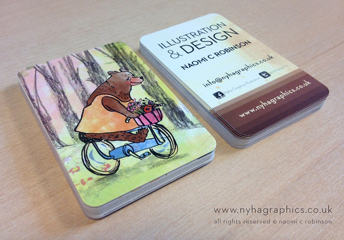 Illustrators Business Cards